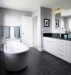 Black And White Bathroom Tile Design Ideas 40 Dark Gray Bathroom Tile Ideas And Pictures