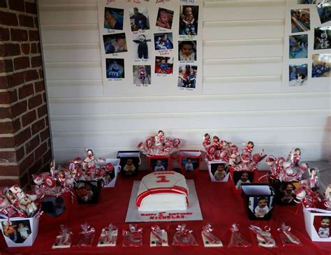themes for hockey games ice hockey birthday quot hockey first birthday quot catch my party