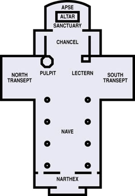 latin cross floor plan san clemente