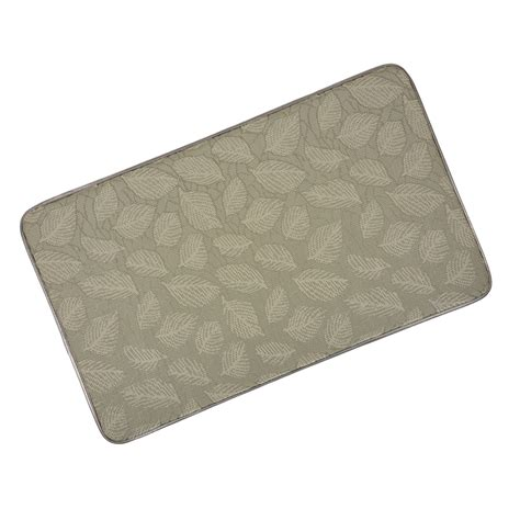 Memory Foam Kitchen Rug Memory Foam Anti Fatigue Anti Stress Comfort Home Kitchen Floor Mat 76 X 46cm Ebay