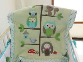 Baby Bedding Owl Aussiebuby Baby Bedding Crib Cot Sets 7 Owl Theme