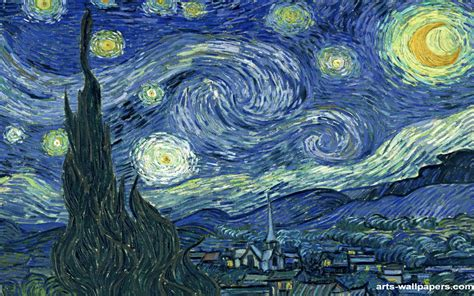 starry night starry night van gogh vincent wallpapers