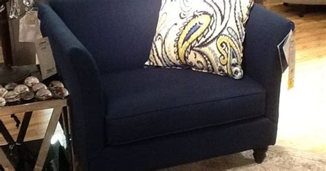 Navy Blue Chair And A Half Navy Blue Chair And A Half This Has A Matching Sofa And