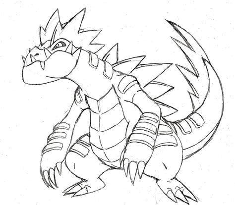 pokemon coloring pages feraligatr project fakemon mega feraligatr by xxd17 on deviantart