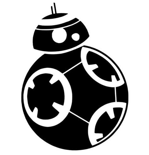 Bb8 Drawing Outline by Svg Disney Bb8 Silhouette Wars Wars Bb8 Outline