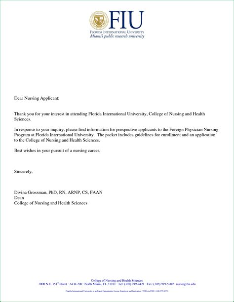 letter to nursing for admission 100 images research