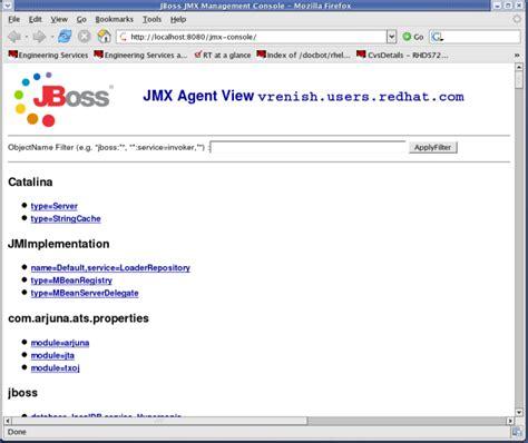 jmx console 1 2 the jmx console