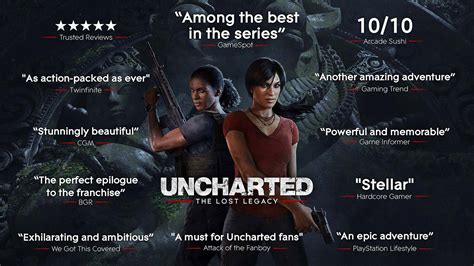 Ps4 Uncarted Thelost Legacy uncharted the lost legacy on ps4 official playstation