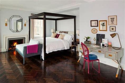 jennifer aniston bedroom black canopy bed contemporary bedroom