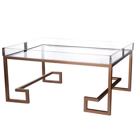 Clear Plastic Coffee Table Felicity Clear Acrylic Coffee Table