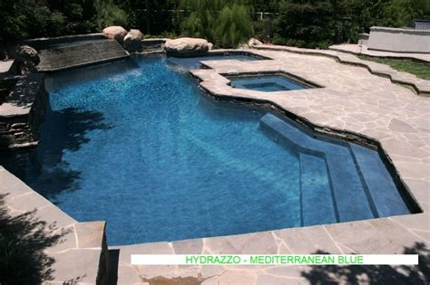 10 best images about mediterranean blue hydrazzo finish on pinterest blue pools and originals