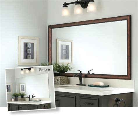 trend bathroom mirror frame 82 in sectional sofa ideas