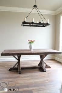 Diy Dining Room Tables Diy Dining Room Table Ideas Build Realty