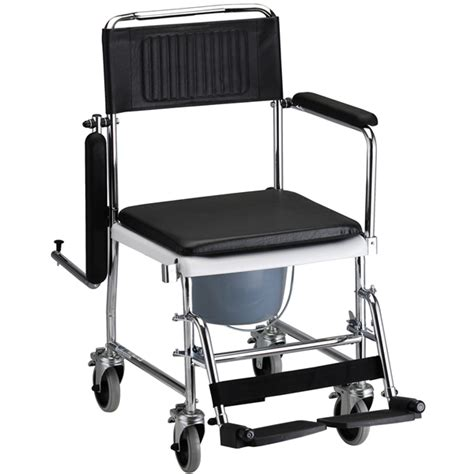 shower commode chair with wheels drop arm commode transport chair with wheels shower