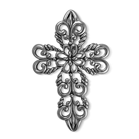 filigree cross tattoo carolyn pollack jewelry lace filigree cross