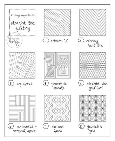 Pattern Panel A Line Top best 20 line quilting ideas on