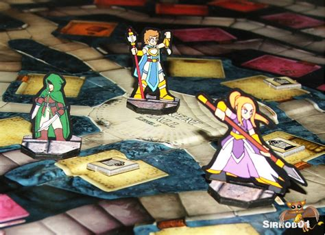 Papercraft Miniatures - paper minis 171 battle studio