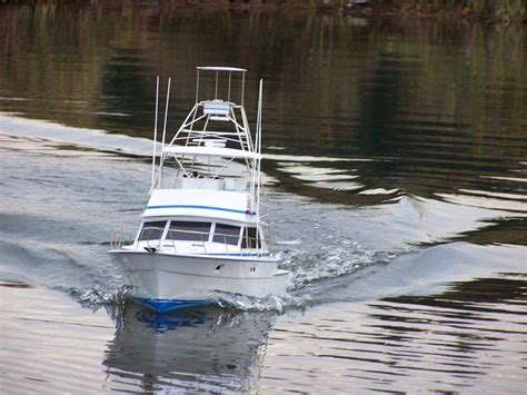 rc sport fishing boat for sale model boats by captains models