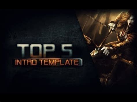 intro the game top 5 video game intro templates free n4l youtube