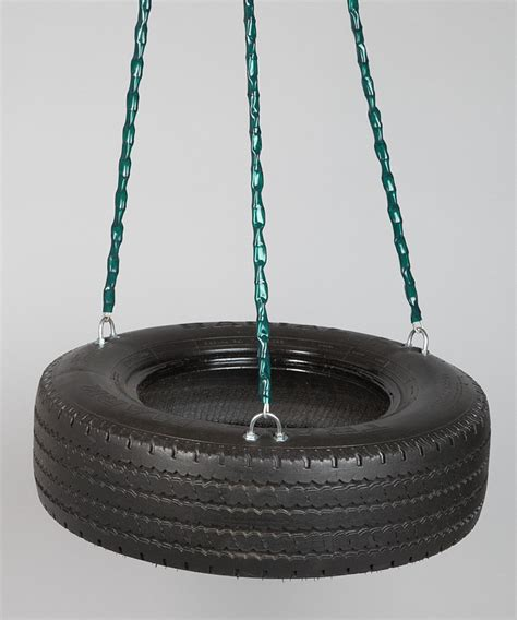 home made tire swing frontier swings three chain tire swing
