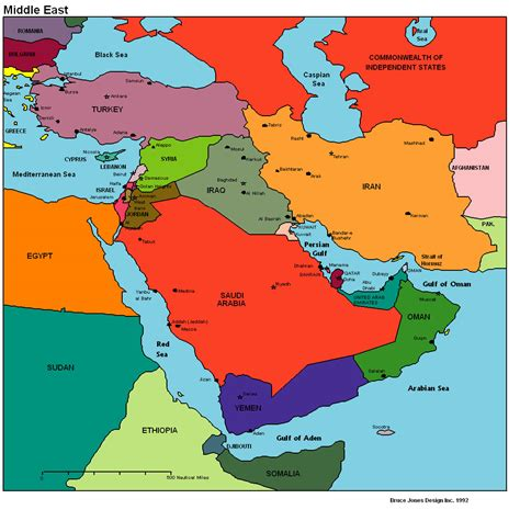 syria middle east map syria map of middle east
