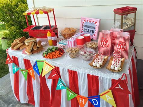 carnival themed party food carnival birthday arty idea games and food ideas boy and