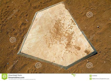 home plate home plate stock photo image 9439930
