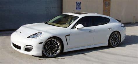 White 4 Door Porsche Panamera by Octavio Dotel S White Porsche Panamera 6speedonline
