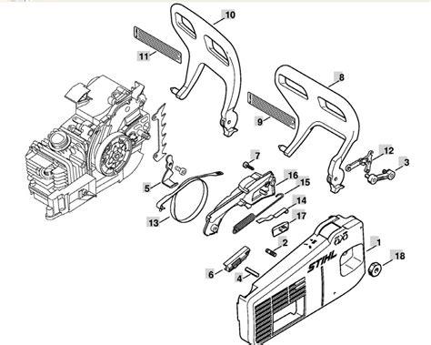 stihl ms200t parts diagram stihl chainsaw ms200t parts diagram car interior design