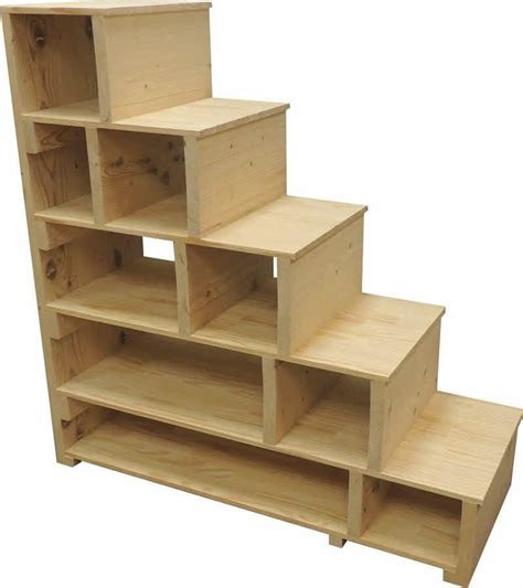 stairs steps shelves       standalone