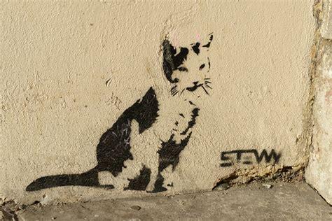 small animal talk animals  bristol street art