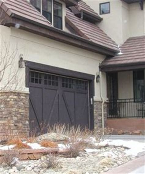 Sos Garage Doors Hawthorne Or Chestnut Sherwin Williams Semi Transparent Stain Charwood We Also Liked The
