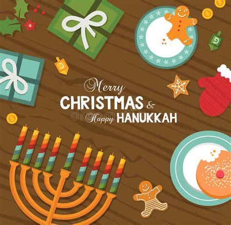 jewish chanukah cookies stock vector illustration  delicious