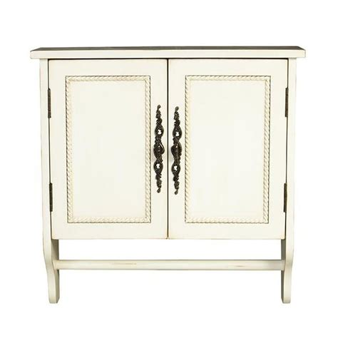 white bathroom wall cabinet with towel bar home decorators collection chelsea 24 in w x 24 in h x 8