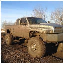 dodge cummins turbo diesel lifted truck mud dodge