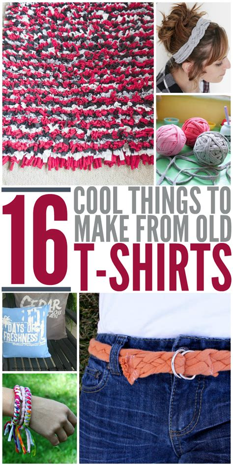 Tshirt How To Your 16 cool things to make from your t shirts