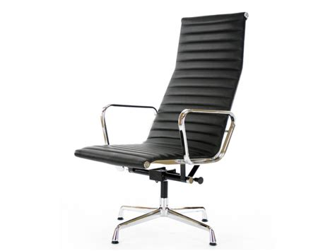 famous chair designs lounge chair ea124 black