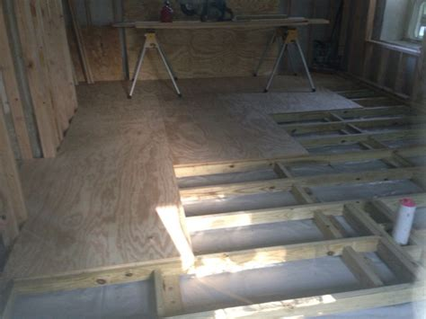 Leveling Subfloor For Floating Floor by Framing A Floor Over Concrete Image 1260070501 Jpg Images