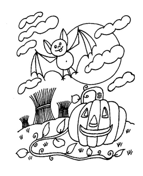fall halloween coloring pages festival collections