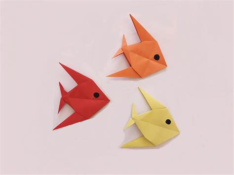 How To Make 3d Fish Out Of Paper - how to make a paper fish