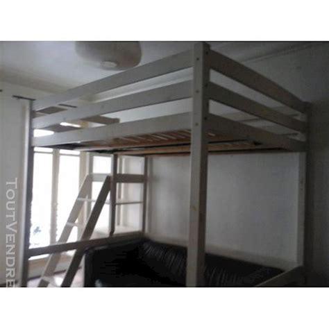 Lit Mezzanine 2 Places Avec Bureau
