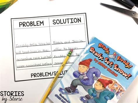problem solution picture books ready freddy chapter book series