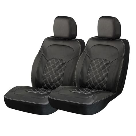 front seat covers black truck front seat cover leather seat covers