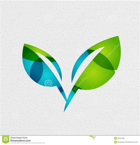 Modern Paper - modern paper design eco leaves concept royalty free stock