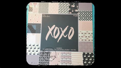 hobby lobby craft paper hobby lobby the paper studio xoxo paper pad my crafts and