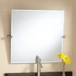 32 quot prague rectangular tilting mirror bathroom mirrors 28 quot florence square tilting mirror