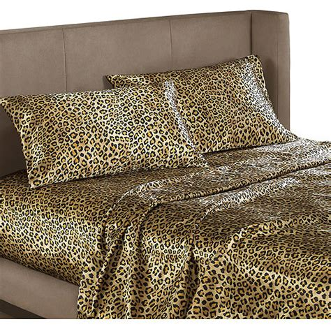 leopard bed set leopard bedding