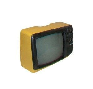 Tv Portable Panasonic vintage yellow tv portable 70s panasonic television i had this in my room growing up