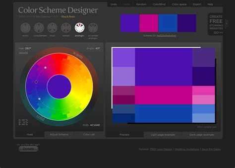 color pallete generators the official inmotion hosting