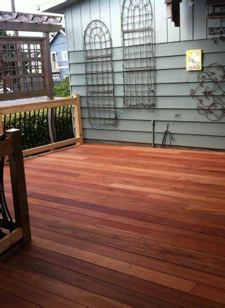 Tiger Deck by Tiger Wood Deck